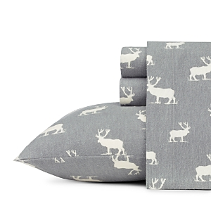 Eddie Bauer Elk Grove Flannel Sheet Set, Full