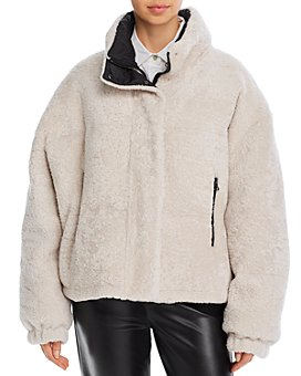 Yves Salomon - Doudone Reversible Shearling Jacket