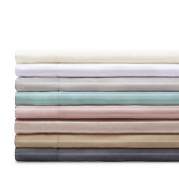 Gingerlily - Silk Solid Fitted Sheet, Queen
