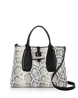Longchamp - Medium Snake-Print Tote