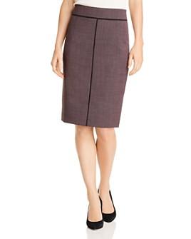 BOSS - Vifana Piped-Detail Pencil Skirt