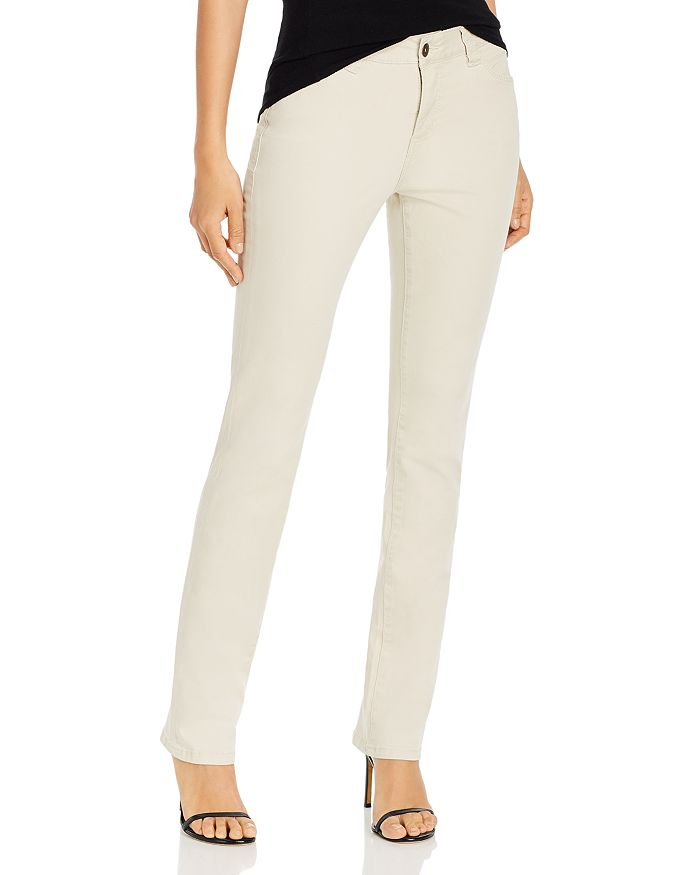 Jag Jeans RUBY STRAIGHT-LEG JEANS IN STONE