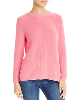 525 - Emma Crewneck High/Low Sweater