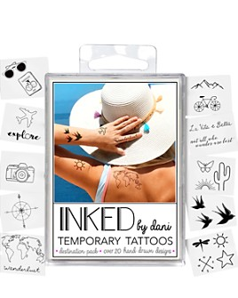 Inked by Dani - Temporary Tattoos - Destination Pack