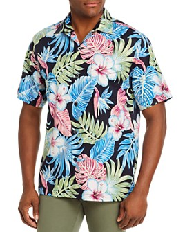 Tommy Bahama - Konkan Jungle Silk Regular Fit Short-Sleeve Shirt