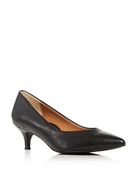 Vionic - Women's Josie Kitten-Heel Pumps