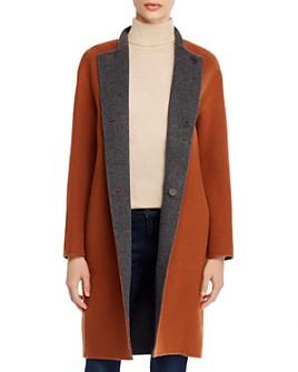 Theory - Alma Reversible Wool Coat