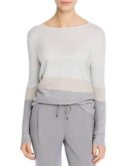Fabiana Filippi - Metallic Threaded Boat-Neck Sweater