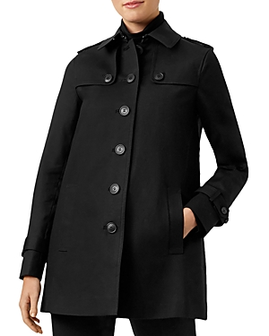 Hobbs London Chrissie Single-Breasted Trench Coat