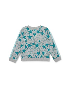 Peek Kids - Girls' Adele Star Print Sweatshirt - Little Kid, Big Kid