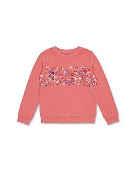 Peek Kids - Girls' Sabrina Embroidered Sweatshirt - Little Kid, Big Kid