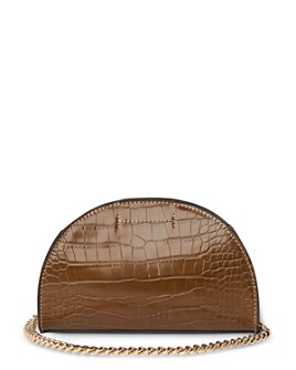 Whistles - Miri Croc-Embossed Shoulder Bag