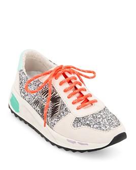 Dolce Vita - Women's Yasmen Low-Top Glitter Sneakers