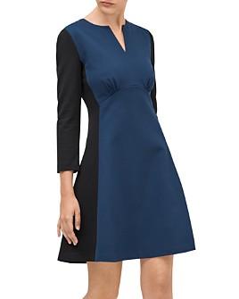 kate spade new york - Color-Blocked Ponte Dress