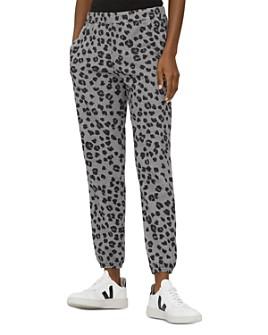 Michael Stars - Salem Leopard-Print Sweatpants