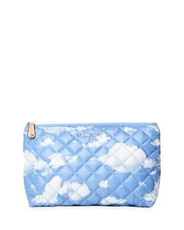 MZ WALLACE - Cloud-Print Zoey Cosmetic Case