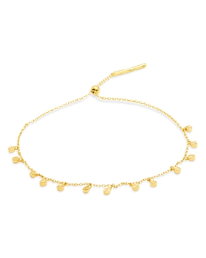 Gorjana Chloe Adjustable Disc-Charm Bracelet-Jewelry & Accessories