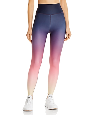 Aqua Athletic High-Rise Ombre Leggings - 100% Exclusive