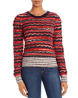 Tory Burch - Mixed-Stripe Sweater