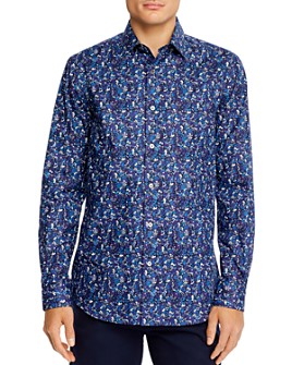 Paul Smith - Soho Gents Floral Button-Down Regular Fit Shirt