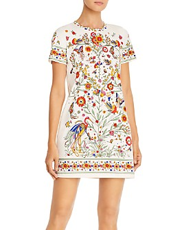 Tory Burch - Scarf-Print Dress