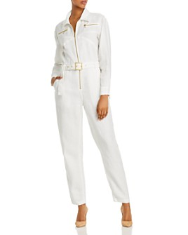 WeWoreWhat - Belted Utility Jumpsuit