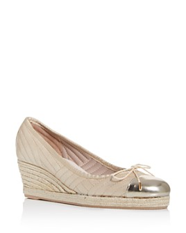 Paul Mayer - Women's Job Quilted Espadrille Wedge Pumps