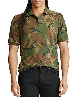 Polo Ralph Lauren - Custom Slim Fit Camo Mesh Polo Shirt