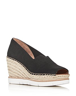 Gentle Souls by Kenneth Cole - Women's Elyssa Wedge Platform Espadrille Pumps