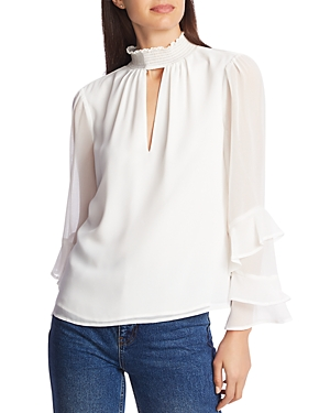 1.state Ruffle-Sleeve Blouse