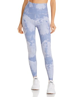 Beyond Yoga - Olympus High-Waist Printed Leggings