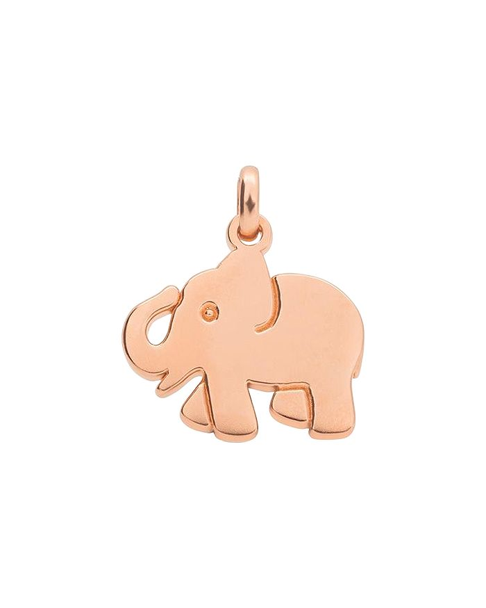 TOUS - 18K Rose Gold-Plated Sterling Silver Idol Luck Elephant Pendant