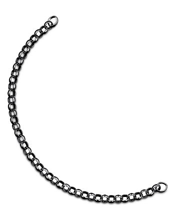 TOUS - Ruthenium-Plated Sterling Silver Hold Chain Bracelet