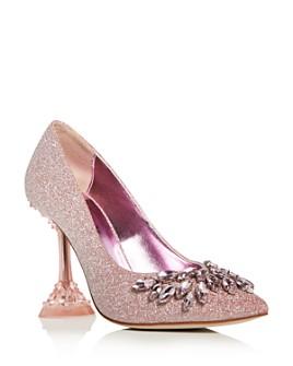 Jeffrey Campbell - Women's Lure Crystal High-Heel Pumps