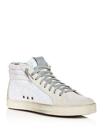P448 - Women's Skate High-Top Sneakers