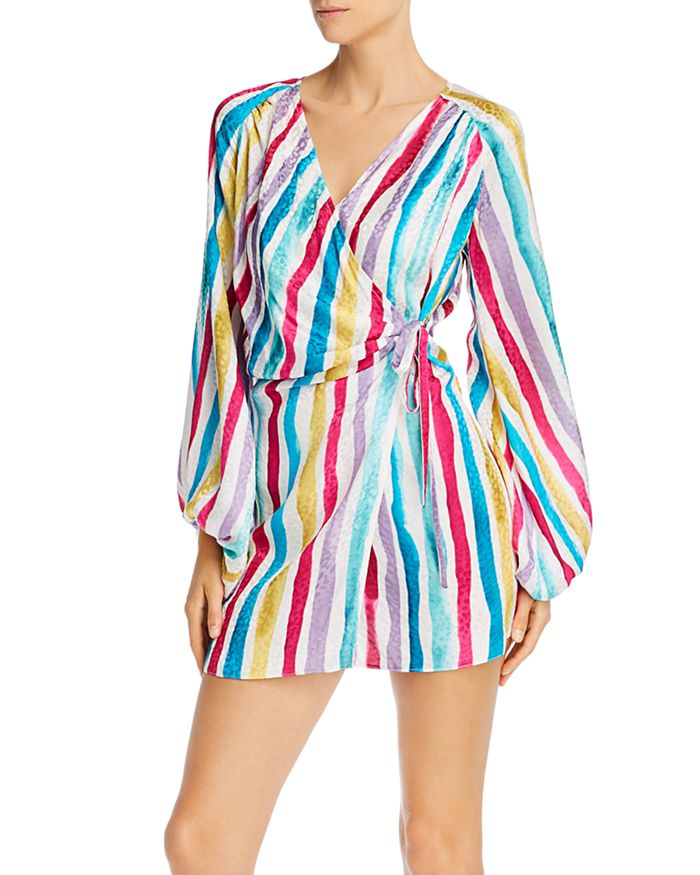 Art Dealer - Brooke Striped Mini Dress