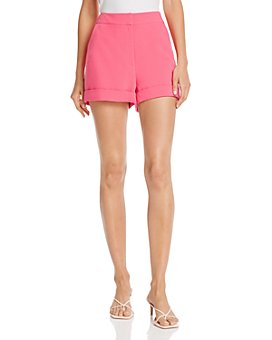 Cinq à Sept - Elaine High-Rise Crepe Shorts