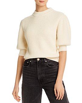 Rebecca Minkoff - Olive Elbow Puff-Sleeve Sweater
