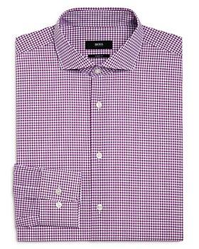 BOSS - Mark Graph Check Regular Fit Dress Shirt