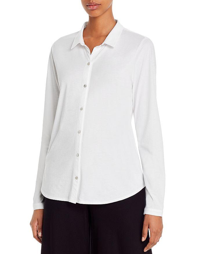Eileen Fisher - Organic Cotton Button-Down Top