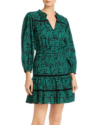 Joie - Salama Crochet-Inset Dress