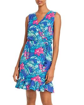 Tommy Bahama - Sleeveless Tropical-Floral Dress