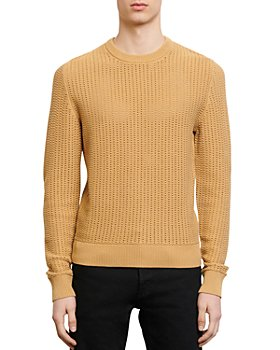 Sandro - Pagnol Open-Stitch Sweater