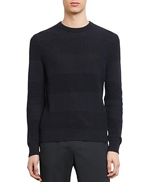 Sandro Oleron Multi-Stitch Crewneck Sweater-Men