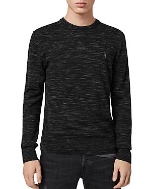 Allsaints Nep Space-Dyed Merino Crewneck Sweater