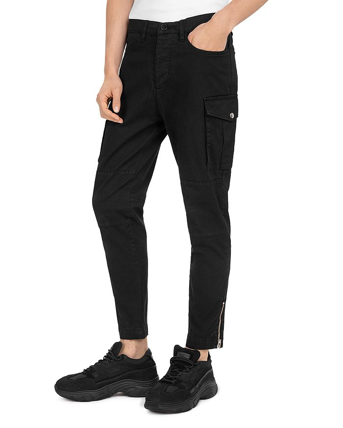 The Kooples - Military Cotton Slim Fit Trousers