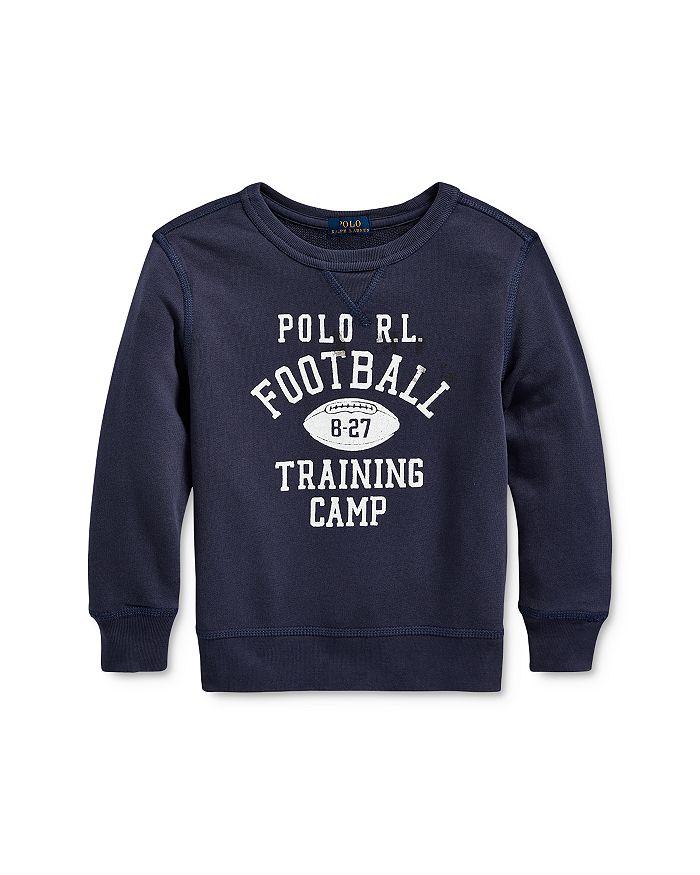Ralph Lauren - Boys' Graphic Sweatshirt - Little Kid, Big Kid