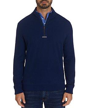 Robert Graham - Draft Quarter-Zip Slim Fit Sweater