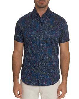 Robert Graham - Payne Slim Fit Shirt-Sleeve Shirt