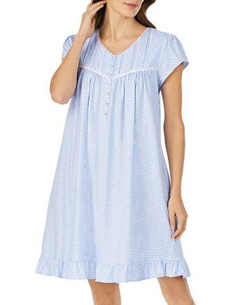Eileen West - Geo-Print Jersey Nightgown